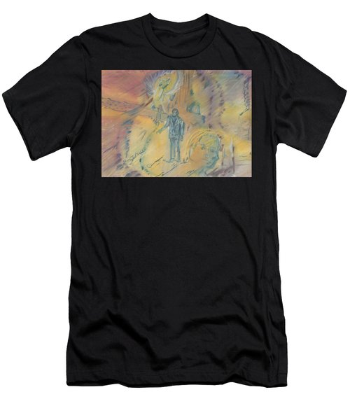 Standing At The Crossroads Men's T-Shirt (Athletic Fit)