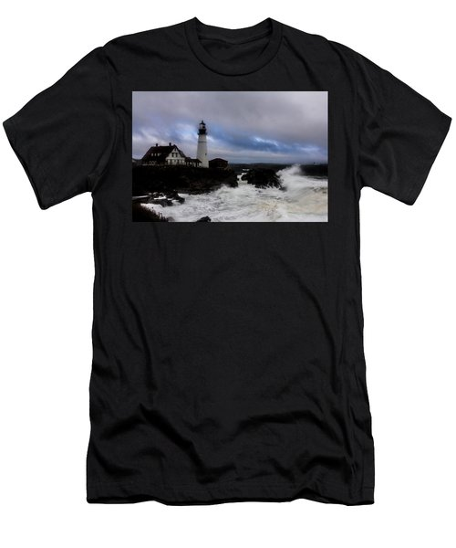 Standing In The Storm Men's T-Shirt (Athletic Fit)