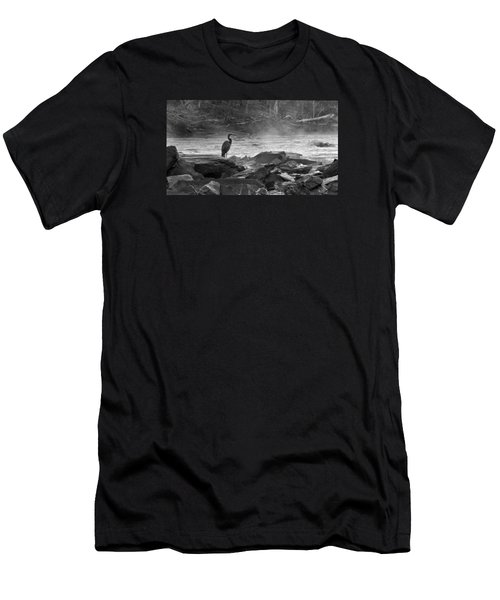 Standing Watch Men's T-Shirt (Athletic Fit)