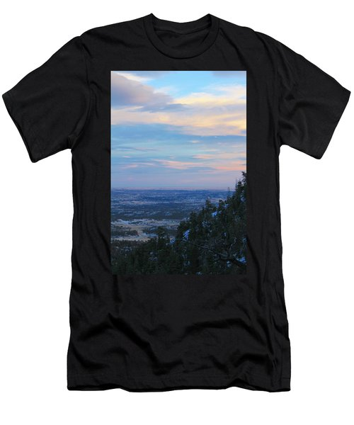 Men's T-Shirt (Slim Fit) featuring the photograph Stanley Canyon Hike by Christin Brodie