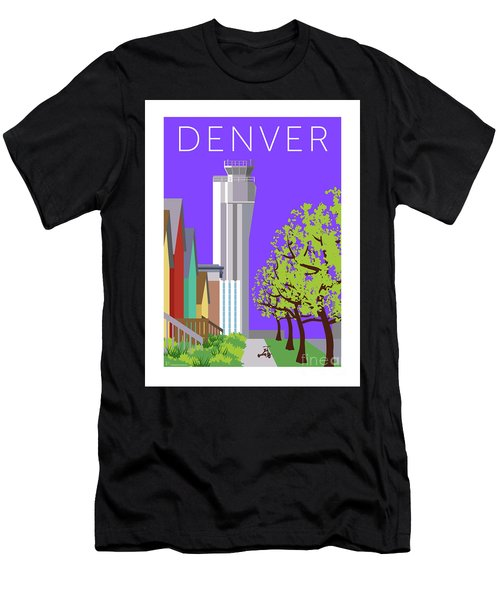 Men's T-Shirt (Athletic Fit) featuring the digital art Stapleton Spring by Sam Brennan