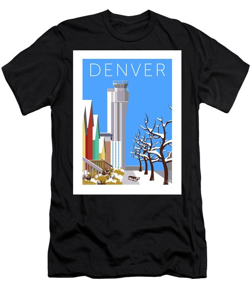 Men's T-Shirt (Athletic Fit) featuring the digital art Stapleton Winter by Sam Brennan