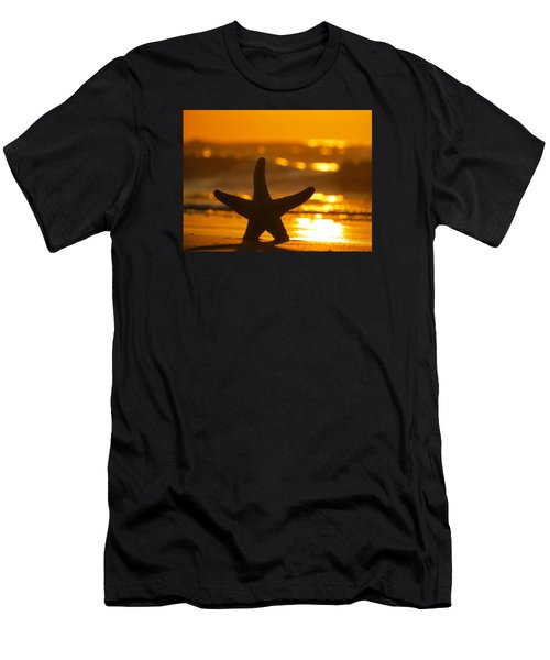 Star Bokeh Men's T-Shirt (Athletic Fit)