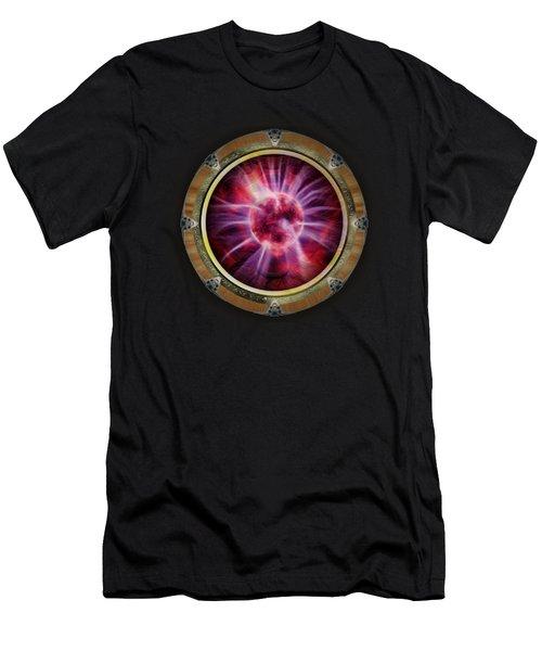 Star Gateways By Pierre Blanchard Men's T-Shirt (Slim Fit) by Pierre Blanchard