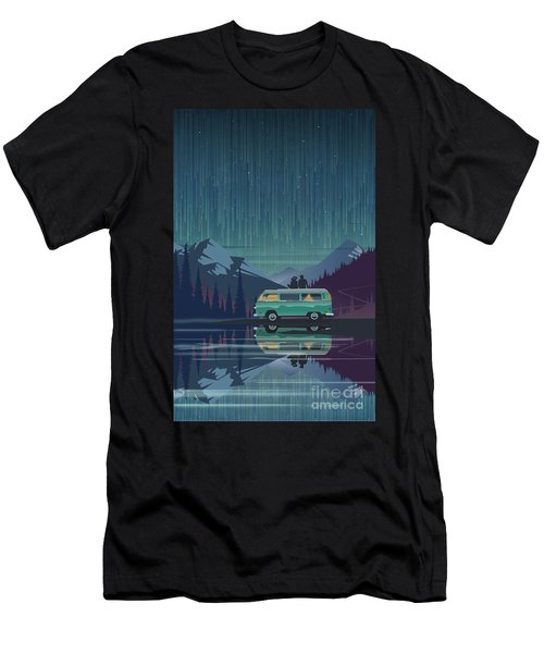 Star Light Vanlife Men's T-Shirt (Athletic Fit)
