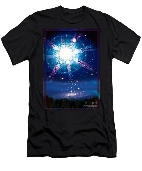 Star Matrix Men's T-Shirt (Athletic Fit)