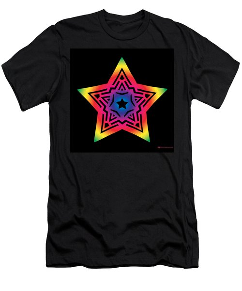 Star Of Gratitude Men's T-Shirt (Athletic Fit)