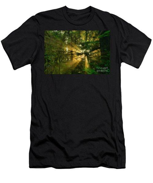Star Of Light Men's T-Shirt (Athletic Fit)