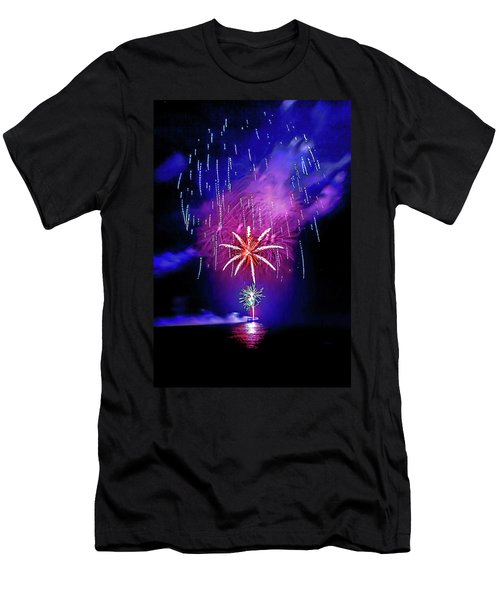 Men's T-Shirt (Athletic Fit) featuring the photograph Star Of The Night by Az Jackson