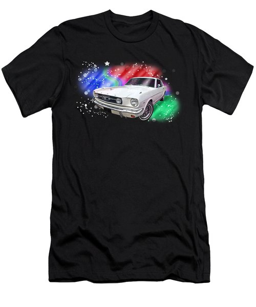 Star Of The Show - 66 Mustang Men's T-Shirt (Athletic Fit)