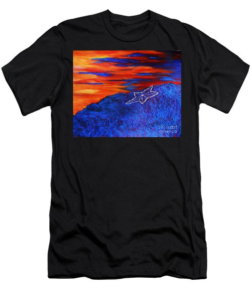 Star On The Mountain Men's T-Shirt (Athletic Fit)