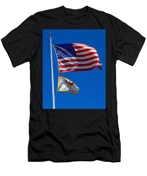 Star Spangled Banner Men's T-Shirt (Athletic Fit)