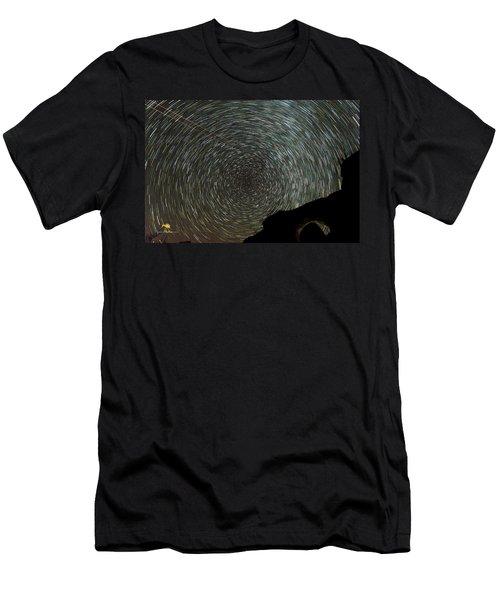 Star Trails Men's T-Shirt (Athletic Fit)