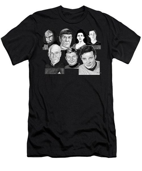 Star Trek Crew Men's T-Shirt (Athletic Fit)