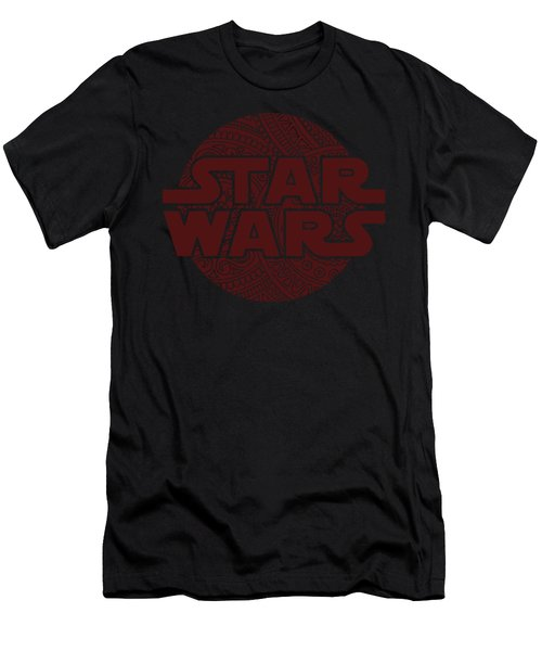 Star Wars Art - Logo - Red 02 Men's T-Shirt (Athletic Fit)