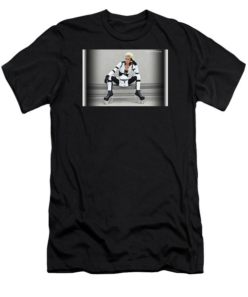 Star Wars By Knight 2000 Photography- Clone Trooper Men's T-Shirt (Athletic Fit)