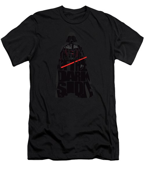 Star Wars Inspired Darth Vader Artwork Men's T-Shirt (Athletic Fit)
