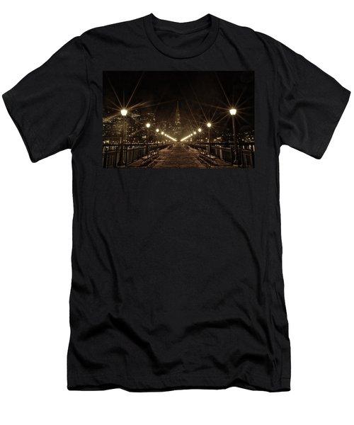 Starburst Lights Men's T-Shirt (Athletic Fit)