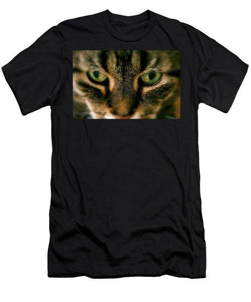Staredown Men's T-Shirt (Slim Fit) by Sue Stefanowicz
