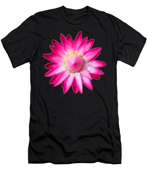 Starflower Opening  Mandala Men's T-Shirt (Athletic Fit)