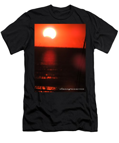 Staring Into A Star Eclipsed Men's T-Shirt (Athletic Fit)