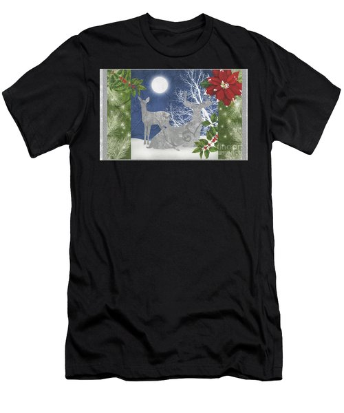 Starlight Christmas Ix Men's T-Shirt (Athletic Fit)