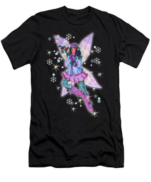 Starr Lynn Holliday Fairy Men's T-Shirt (Athletic Fit)