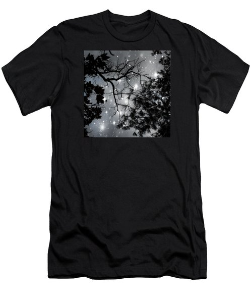 Starry Night Sky Men's T-Shirt (Athletic Fit)