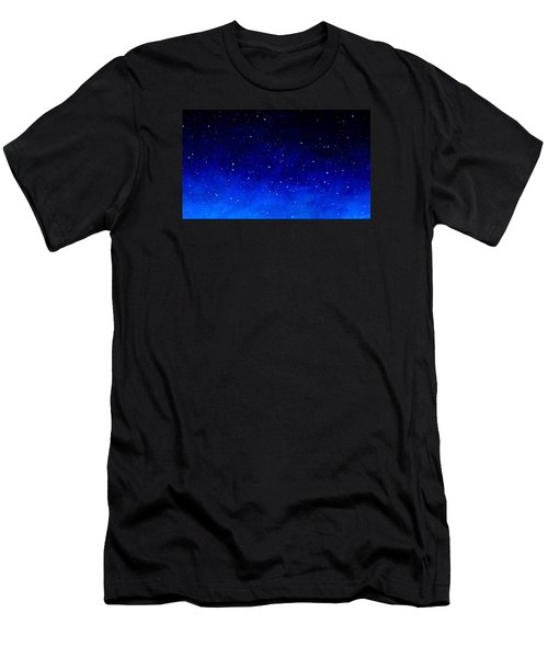 Men's T-Shirt (Athletic Fit) featuring the painting Stars by Cliff Spohn