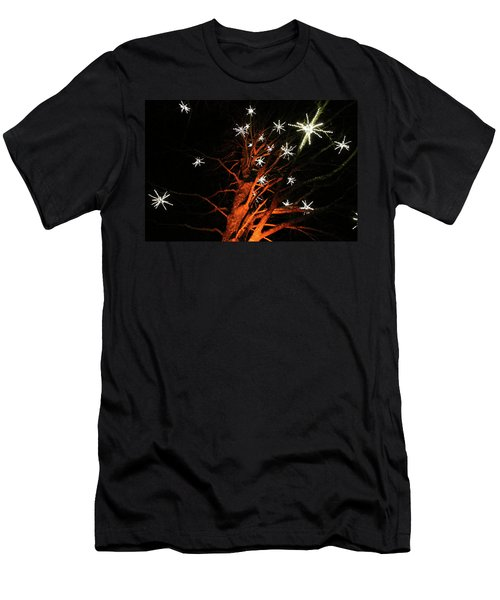 Stars In The Tree Men's T-Shirt (Athletic Fit)