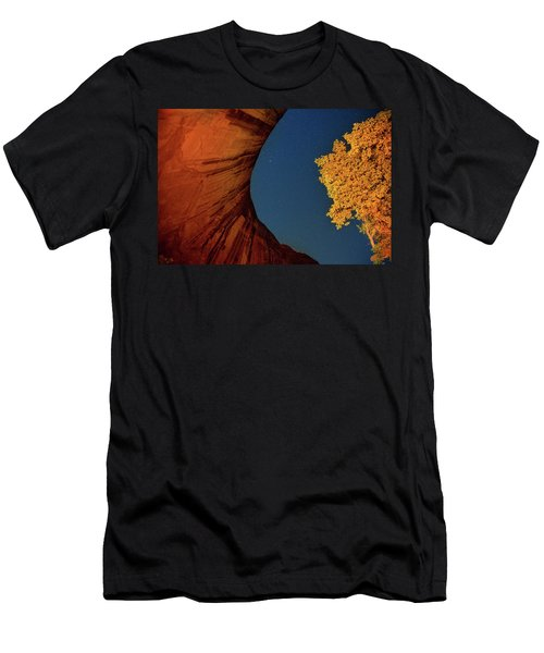 Stars Over Canyon Men's T-Shirt (Athletic Fit)