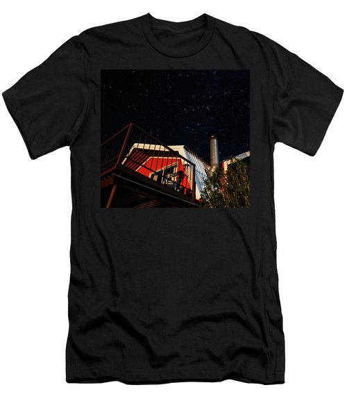 Stars Over Gila Cottage Men's T-Shirt (Athletic Fit)