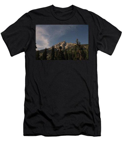 Stars Over Grand Teton Men's T-Shirt (Athletic Fit)