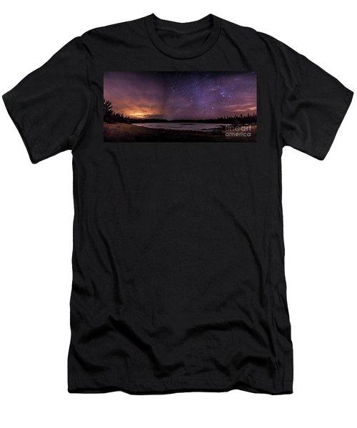 Stars Over Lake Eaton Men's T-Shirt (Athletic Fit)