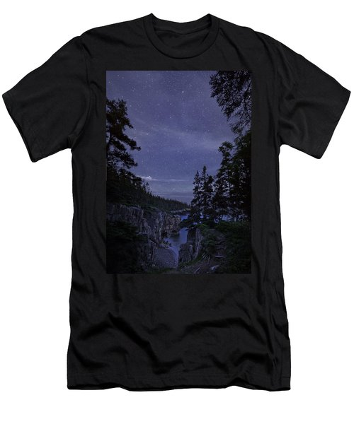 Stars Over Raven's Roost Men's T-Shirt (Athletic Fit)