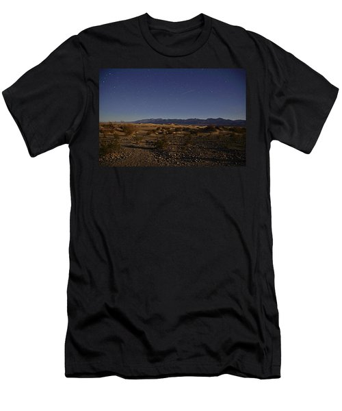 Stars Over The Mesquite Dunes Men's T-Shirt (Slim Fit) by Michael Courtney