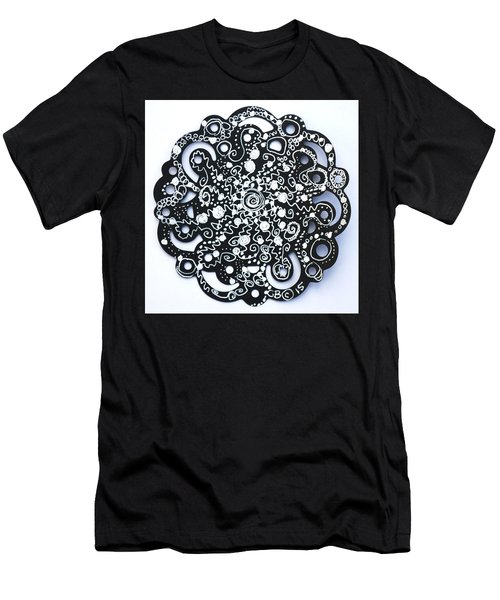 Stars Men's T-Shirt (Slim Fit) by Carole Brecht
