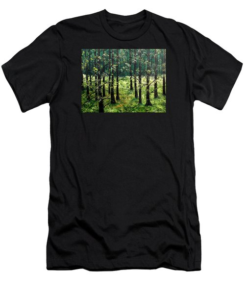 Starting The Game Men's T-Shirt (Slim Fit) by Lisa Aerts