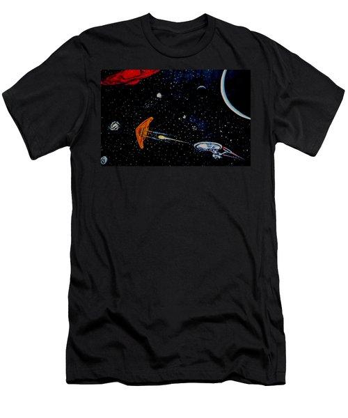 Startrek Men's T-Shirt (Slim Fit) by Stan Hamilton