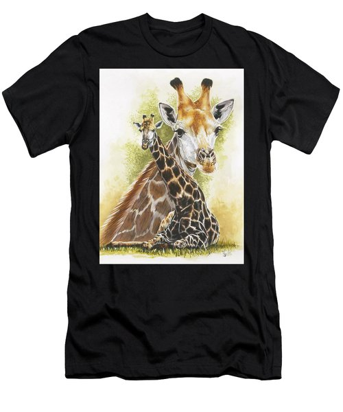 Men's T-Shirt (Athletic Fit) featuring the mixed media Stateliness by Barbara Keith