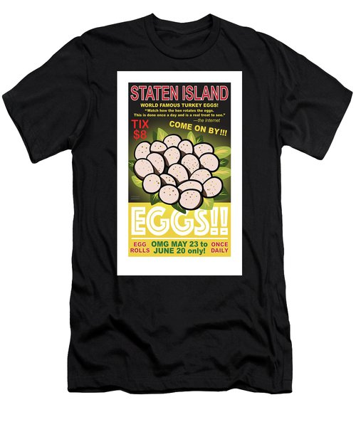 Staten Islands Eggs Men's T-Shirt (Athletic Fit)