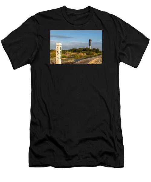 Station 18 1/2 On Sullivan's Island Men's T-Shirt (Athletic Fit)