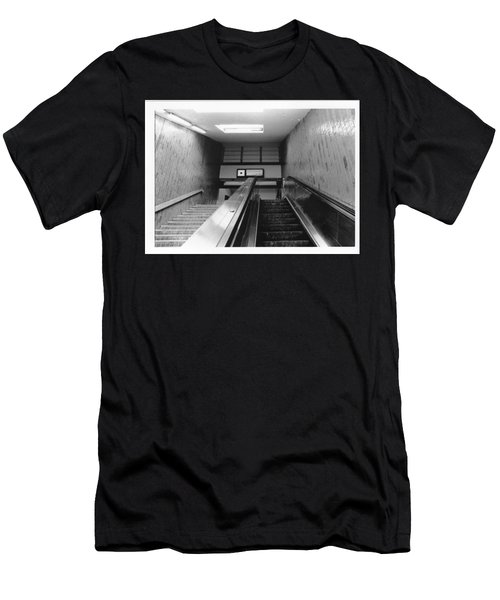 Station Stop  Men's T-Shirt (Athletic Fit)