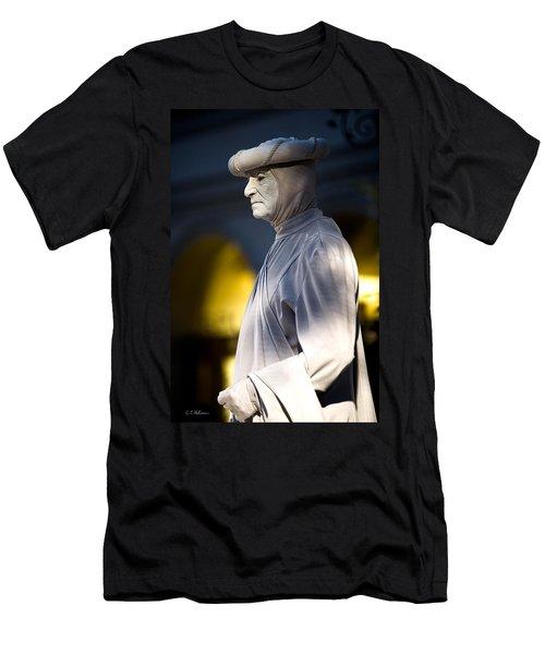 Statuesque Men's T-Shirt (Athletic Fit)