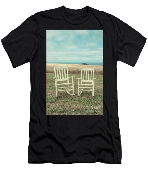 Stay Awhile Prince Edward Island Men's T-Shirt (Athletic Fit)