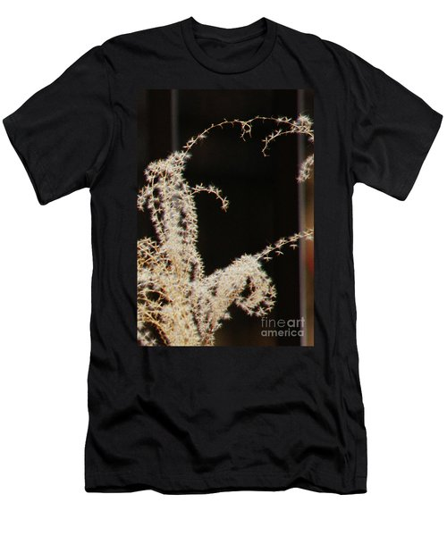 Men's T-Shirt (Slim Fit) featuring the photograph Stay Close by Linda Shafer
