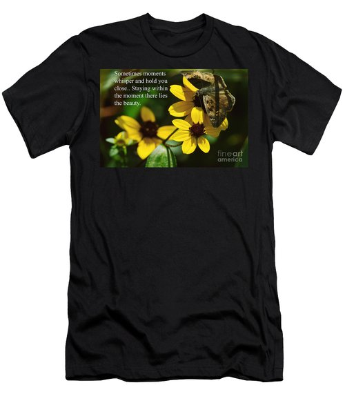 Staying Within The Moment Men's T-Shirt (Athletic Fit)