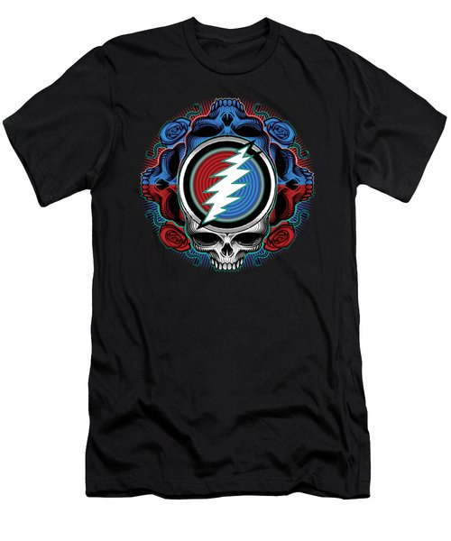 Steal Your Face - Ilustration Men's T-Shirt (Athletic Fit)