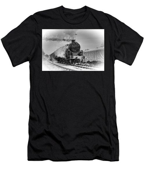Steam Locomotive 73129 Men's T-Shirt (Athletic Fit)