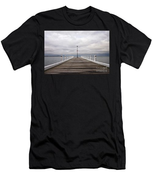 Steampacket Quay Men's T-Shirt (Athletic Fit)